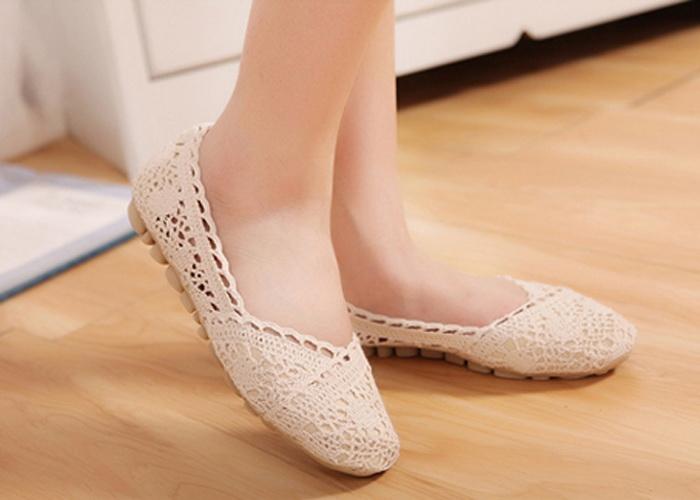 کفش های صاف و بدون پاشنه