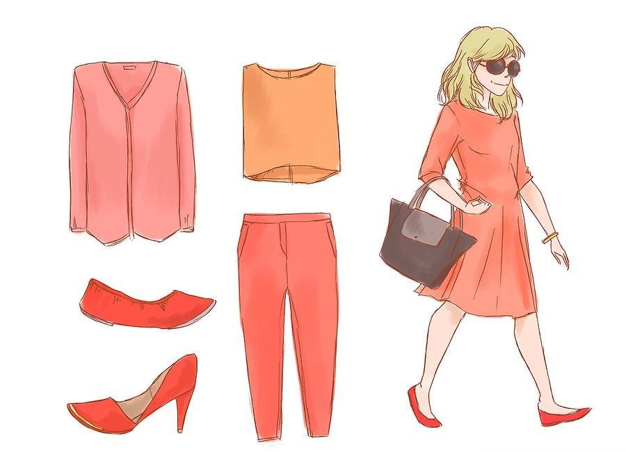 ست کفش قرمز با نارنجیست کفش قرمز با نارنجی