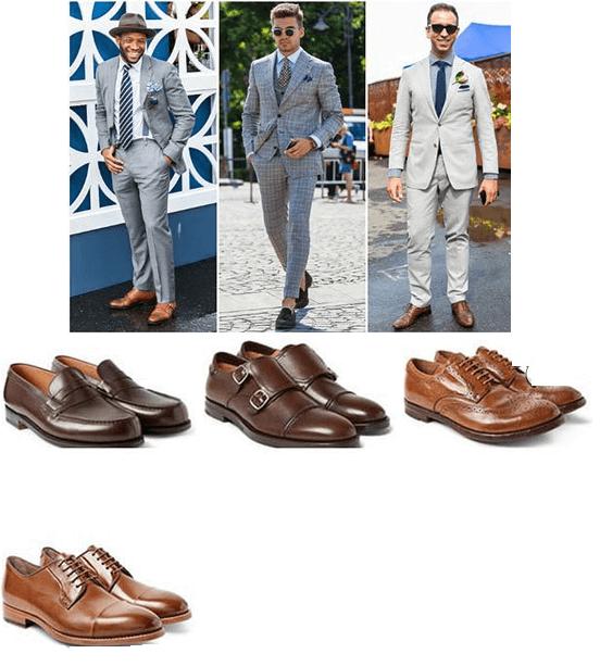 ست کردن لباس و انواع کفش