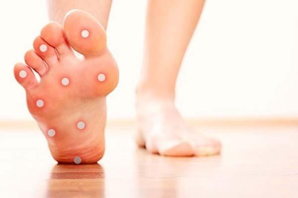 بیماریهای دیابتی در پا