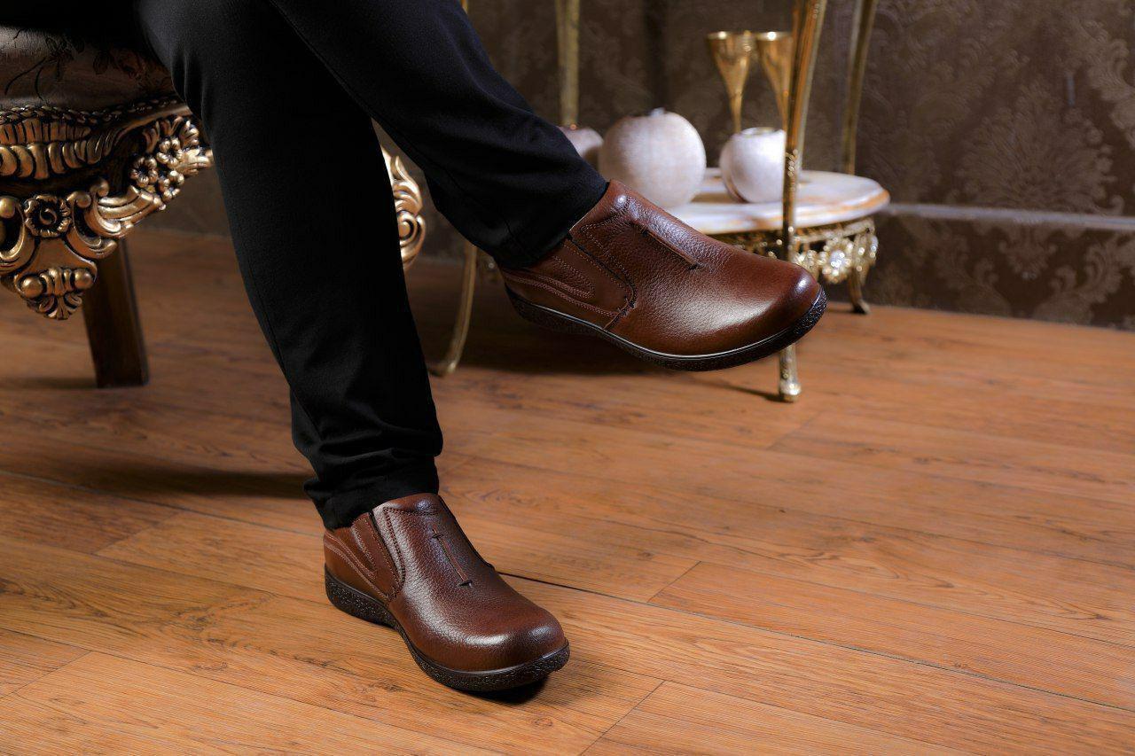 کفش چرم طبیعی