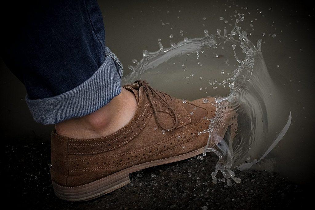 کفش چرمی ضدآب