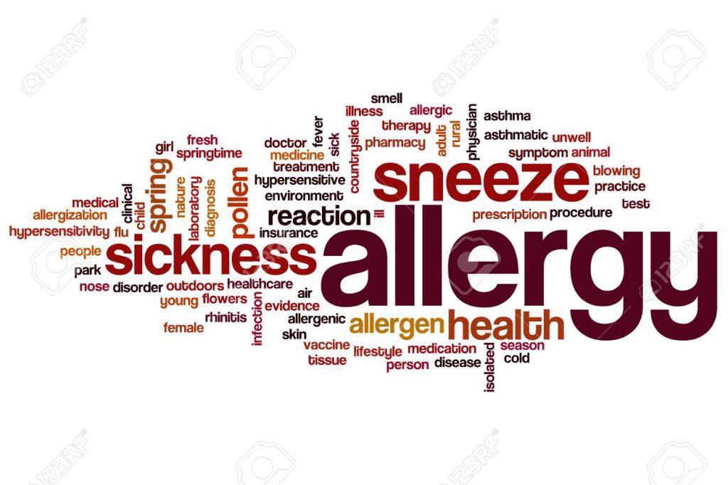 آلرژی به کفش
