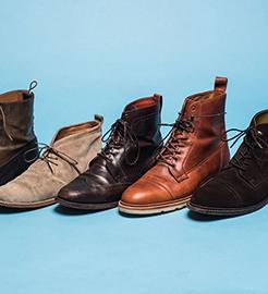 انواع بوت ها-شرکت تولیدی کفش شهپر - تولیدکننده انواع کفش چرمی