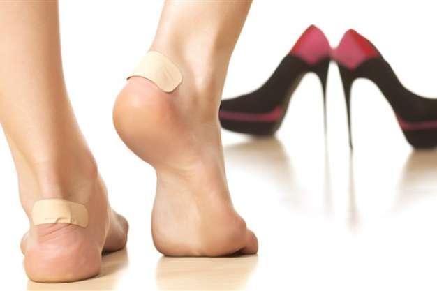 جلوگیری از تاول زدن پا - کفش شهپر