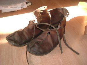 کفش سربازان رومی - کفش شهپر