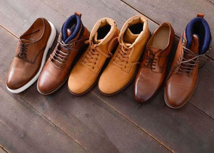 کفش های چرم - کفش شهپر